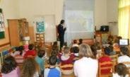 Ενημέρωση μικρών μαθητών παιδικών σταθμών στη Θεσπρωτία, σε θέματα κυκλοφοριακής αγωγής