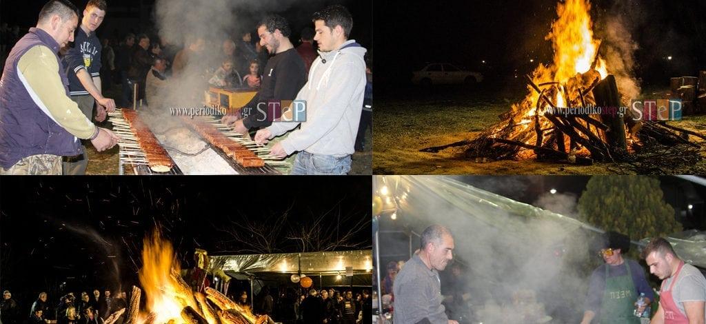 Το Καρναβάλι έκλεισε με φωτιές, κρασί και εδέσματα