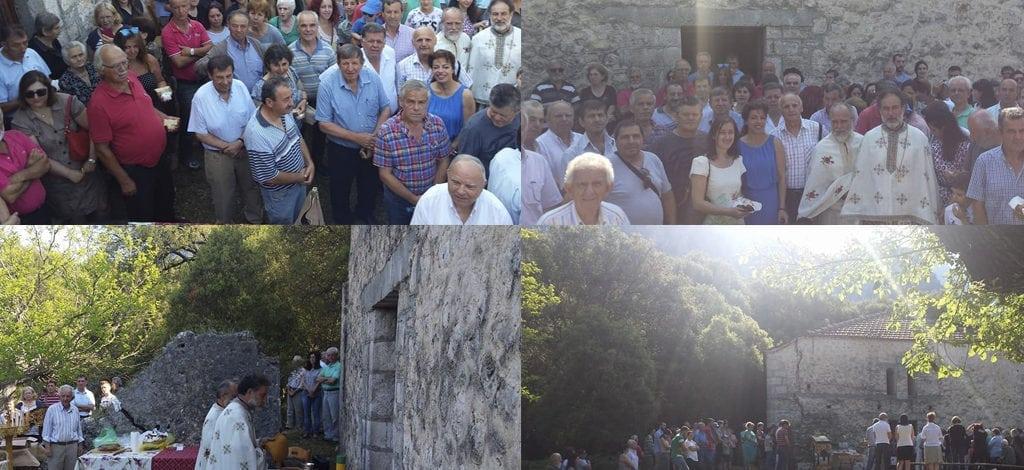 Θεσπρωτία: Με παρουσία πολλών πιστών τελέστηκε η θεία λειτουργία στην Ιερά μονή του Ιωάννη του Πρόδρομου