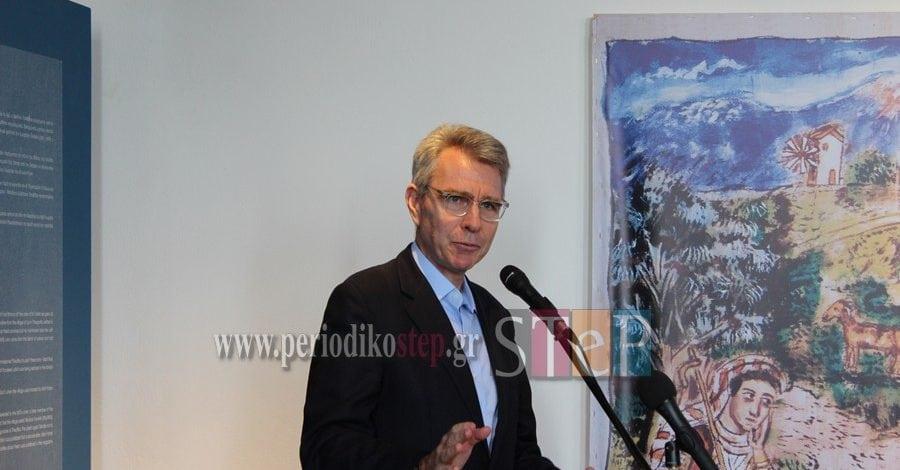 Ο Αμερικανός πρέσβης κ. Πάιατ χαρακτήρισε πυλώνα σταθερότητας την Ελλάδα (βίντεο)